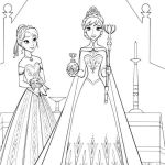 Elsa and Anna Coloring Pages Awesome 12 Awesome Anna Coloring Page