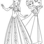 Elsa and Anna Coloring Pages Inspirational 47 Best Frozen Coloring Images