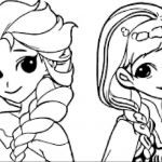 Elsa and Anna Coloring Pages Inspirational Coloring Pages for Girls Frozen Monesmapyrene