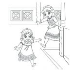 Elsa and Anna Coloring Pages Unique Elsa Frozen Coloring Pages – Nightcodefo