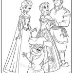 Elsa Anna Coloring Beautiful Free Frozen Coloring Pages