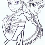 Elsa Anna Coloring Excellent Awesome Frozen Anna and Elsa Coloring Pages – Kursknews