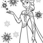 Elsa Coloring Pages Awesome 47 Best Frozen Coloring Images
