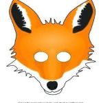 Emoji Mask Printable Awesome Coloring Pages Luxury Fantastic Fox Mask Template Printable Cartoon
