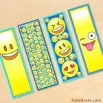Emoji Print Outs Inspiring Corner Bookmark Template Best Free Printables for Invitations Emoji