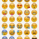 Emoji Print Outs Wonderful 58 Best Emoji Templates Images In 2016