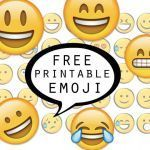Emoji Stickers Printable Awesome Best Sticker Printables for Free