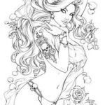Erotic Coloring Pages Marvelous 758 Best Coloring Fantasy Pinups Images In 2019