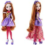 Ever after High Holly and Poppy Amazing Mattel Ever after High Lalki Księżniczki Holly Lalki I Akcesoria