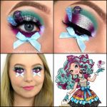 Ever after High Holly and Poppy Brilliant Ever after High Makeup Tutorial ashlynn Ella