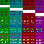 Extreme Color by Number Exclusive Color foreground and Background Colours Windows Cmd Ss64