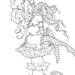 Faerie Coloring Pages Awesome 168 Best Fairy Coloring Pages Images In 2017