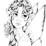 Faerie Coloring Pages Beautiful 246 Best About Adult Coloring In Pages Pinterest