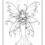 Faerie Coloring Pages Brilliant 746 Best Coloring Pages Fantasy Images In 2019