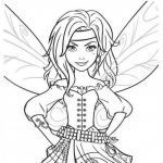Faerie Coloring Pages Inspirational Coloring Fairies Displaying 20 Gt Images for Easy to