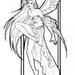 Faerie Coloring Pages Wonderful Amy Brown Fairy Coloring Pages