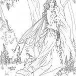 Faerie Coloring Pages Wonderful Coloring Fairy Eymiruldings