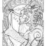 Faerie Coloring Pages Wonderful Fairy Princess Lolly Herbleonhard Fairies Fantasy Fairy Magic