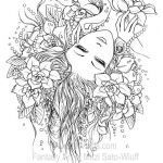 Faerie Coloring Pages Wonderful Mermaid Coloring Pages Adults