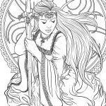 Fairy Adult Coloring Awesome 20 Beautiful Evil Fairy Coloring Pages for Adults Pixabay