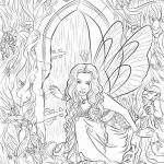 Fairy Adult Coloring Best Of Most Likely Gothic Fairy Coloring Pages Plus Evil Dragon Coloring