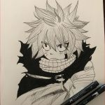 Fairy Adult Coloring Unique Drawings Fairies Natsu Dragneel Fairy Tail Intereses