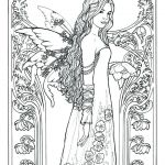 Fairy Adult Coloring Unique Free Fairy Printables
