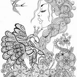 Fairy Coloring Pages Beautiful Fresh Fairy Tale Coloring Page 2019