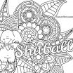 Fairy Coloring Pages for Adults Printable Amazing Curse Word Coloring Book