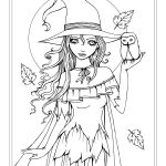 Fairy Coloring Pictures Exclusive Autumn Fantasy Coloring Book Halloween Witches Vampires and