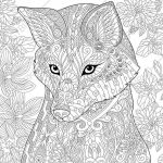 Fantasy Adult Coloring Pages Amazing Lovely Adult Coloring Pages Animals Fvgiment