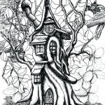 Fantasy Adult Coloring Pages Awesome Awesome Gothic Fairy Coloring Pages Featured Free Printable Fairy