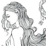 Fantasy Adult Coloring Pages Beautiful Coloring Pages Girls – Royaltyhairstore