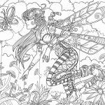 Fantasy Adult Coloring Pages Brilliant Coloring Staggering Gothic Coloring Book Flip