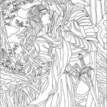 Fantasy Adult Coloring Pages Inspiration 798 Best Fantasy Coloring Pages for Adults Images In 2019