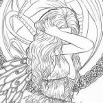 Fantasy Adult Coloring Pages Inspiring Fantasy Coloring Pages for Adults Quote Coloring Pages Sheets