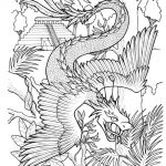 Fantasy Adult Coloring Pages Inspiring Fantasy Dragon Coloring Pages at Getdrawings
