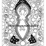 Fantasy Adult Coloring Pages Inspiring Goddess Art Coloring Pages Egyptian Goddess Nyx Coloring Page