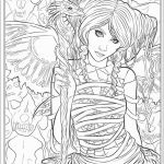 Fantasy Adult Coloring Pages Pretty Coloring Page Fantasyoring Pages for Adults Ideas Lezincnyc
