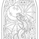 Fantasy Coloring Pages for Adults Elegant Fantasy Dragon Fantasy Coloring Pages for Adults
