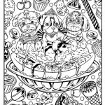 Fantasy Coloring Pages for Adults Inspired Leopards Coloring Pages