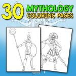 Fantasy Coloring Pages for Adults Marvelous Mythology Goddesses and Gods Coloring Book for Adults Fantasy