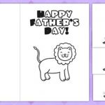 Father Day Colouring Pictures Exclusive Fathers Day Card Templates Colouring Father Dad Ts Cards