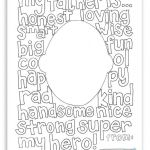 Fathers Day Color Page Brilliant Free Father S Day Coloring Page Fathers Day