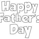Fathers Day Color Page Pretty Father S Day Cards to Colour and Print Coloring Pages