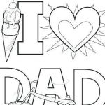 Fathers Day Coloring Pages Free Exclusive Coloring Pages Daddy I Love You – Psubarstool