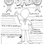Fathers Day Coloring Pages Free Wonderful Pin by Vanessa Pan On Worksheets