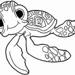 Finding Dory Coloring Book Amazing Cute Turtle Coloring Pages