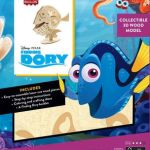 Finding Dory Coloring Book Exclusive Incredibuilds Finding Dory 3d Wood Model
