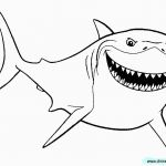 Finding Dory Coloring Book Inspirational Free Printable Great White Shark Coloring Pages Lovely Shark